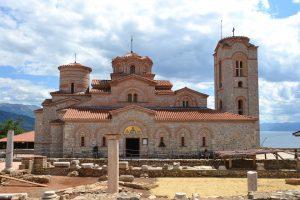 Plaushnik Kirche in Ohrid.